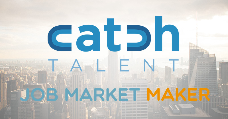 Catch Talent Selects Job Market Maker to Power Their Recruiting Services