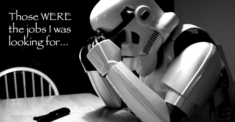 Be Careful What You Ask a Stormtrooper