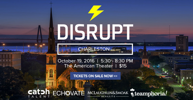 Introducing DisruptHR Charleston: A Night of Networking, Learning, and Ideas