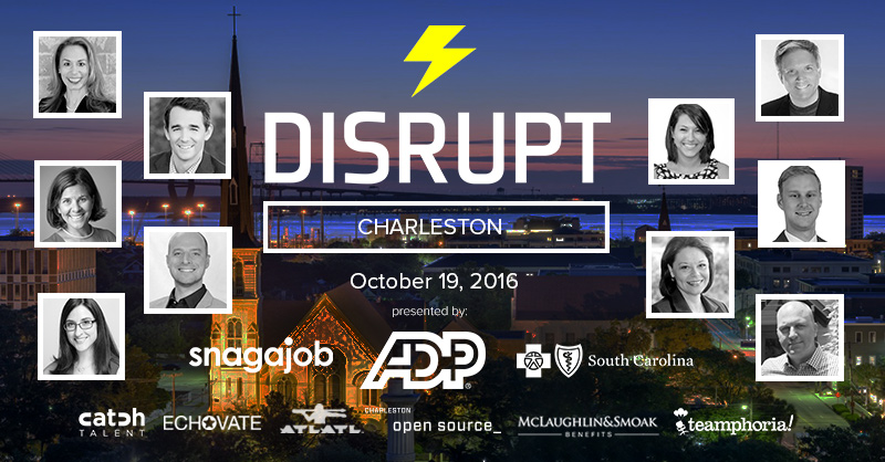 Watch the DisruptHR Charleston Talks