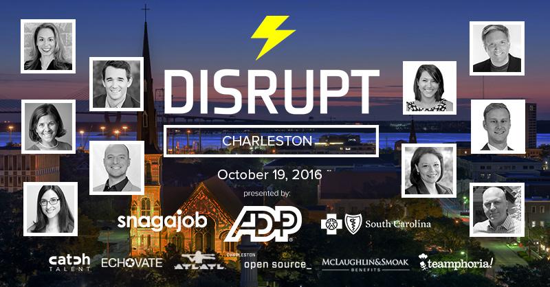 Watch the DisruptHR Charleston Talks