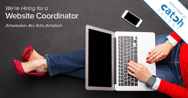 Featured Job: Website Coordinator