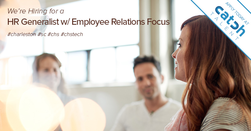 Featured Job: HR Generalist with Employee Relations Focus