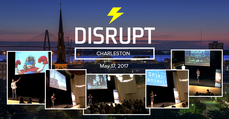 DisruptHR Charleston Is Back Once Again on May 17!