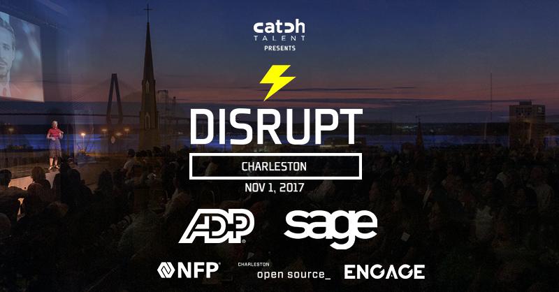 DisruptHR Charleston V3 Coming Nov 1