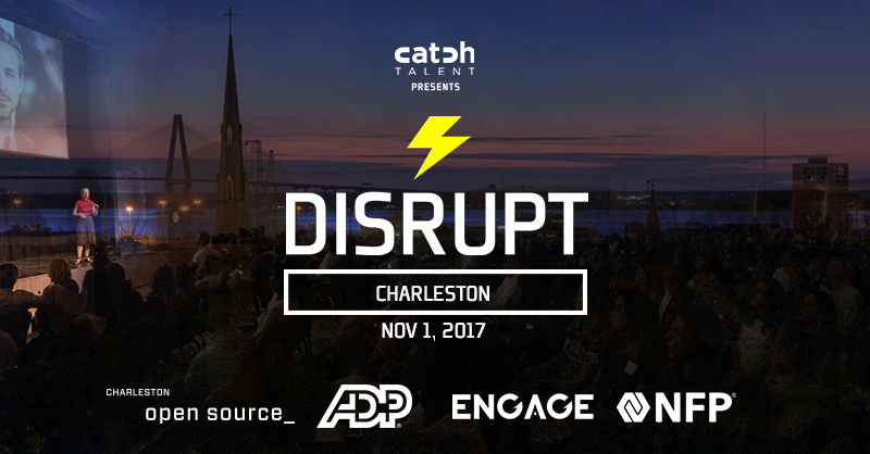 DisruptHR Charleston V3 Coming Nov 1