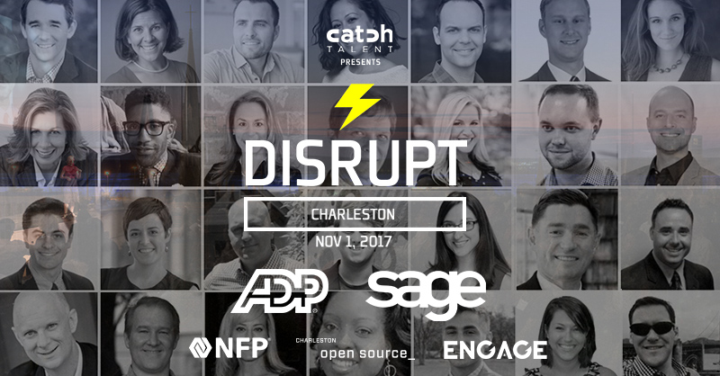 Season 3 of DisruptHR Charleston Is Here!