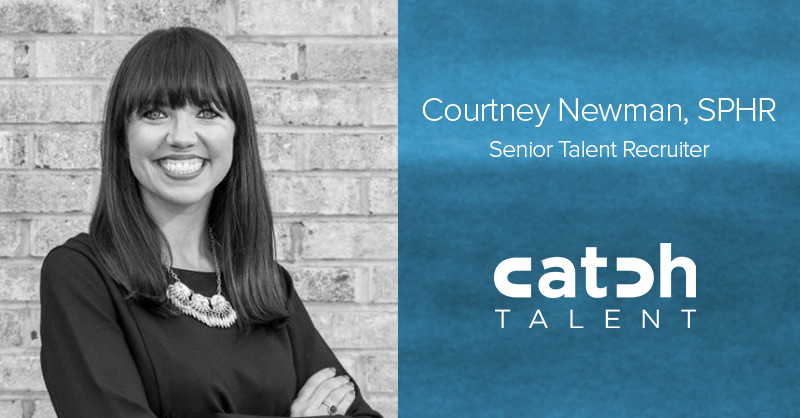 Courtney Newman Joins Catch Talent as a Senior Talent Recruiter