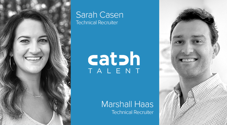 Sarah Casen and Marshall Haas Join Catch Talent