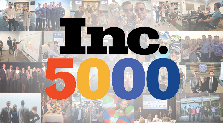 Catch Talent Ranks 907th on the 2020 Inc. 5000 List of Fastest-Growing Companies