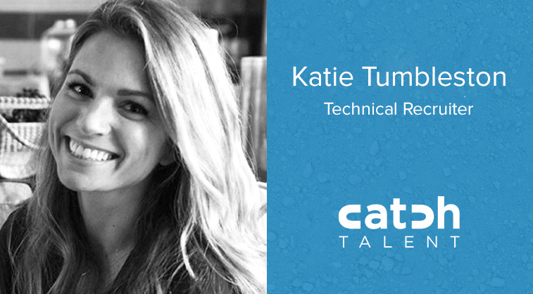 Katie Tumbleston Joins Catch Talent as a Technical Recruiter